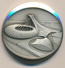 CANADA MONTREAL OLYMPIC COLLECTOR STERLING SILVER MEDAL 1976