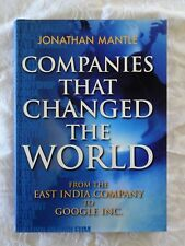Companies that Changed the World by Jonathan Mantle (Hardback, 2008)