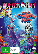 Monster High: Great Scarrier Reef  - DVD - NEW Region 4