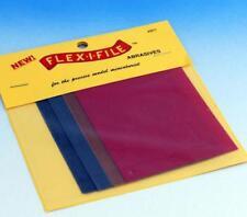 Albion Alloys Flex-i-File Sheets 2 each 600 , 150 , 280 , 320 G (Ref: 801)
