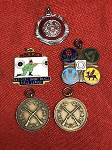 Vintage Shooting Medals Dating From 1940's
