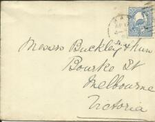 New South Wales Sg#254(single frank) Hay Ap/17/95 to Melbourne backstamped
