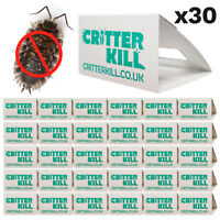 30 X WOODLICE KILLER TRAP CRAWLING INSECT GLUE TRAPS PEST CONTROL POISON FREE