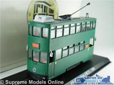 Hong Kong Model Tram 1 76 Scale Atlas Bus 6th Generation (hkt) 1986 Green K