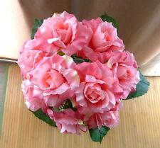 Blumenstrauß rose  Kunstblumen -Seidenblumen -künstliche Blumen-Deko