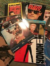 Huge Lot Of 129 Laserdiscs Blind Fury  Rage And Honor GREAT CONDITION