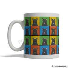 Mudi Dog Mug - Cartoon Pop-Art Coffee Tea Cup 11oz Ceramic
