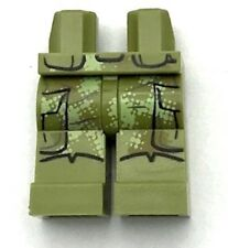 Lego New Olive Green Hips and Legs Star Wars Camouflage Coattails with Pockets