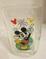 VTG Walt Disney World Square Glass 2000 McDonalds Mickey Mouse Magic Kingdom