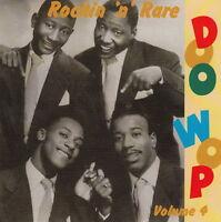 ROCKIN' 'n' RARE DOO WOP volume 4 CD - 1950s Rock 'n' Roll - doowop - R&B - NEW