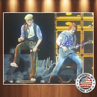 David Lee Roth Eddie Van Halen Autographed Signed 8x10 Photo REPRINT