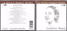 CD 14T LUCIENNE BOYER LA DOUCE FRANCE RÉTRO BEST OF 2002 TBE