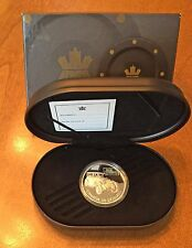 2002 Silver $20 GRAY-DORT Hologram Proof CANADA Transportation Series w/Box