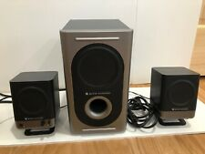 Altec Lansing 221 Computer Speakers And Subwoofer System 2.1 Wired  w/ AC Power