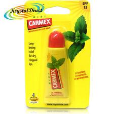 Carmex Moisturising Mint Lip Balm Tube SPF15 For Dry Chapped Cracked Lips 10g