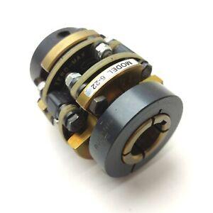 "ZERO-MAX 6-22 Double-Flex Motor Coupler 5/8"" 3/4"" Bore, 270in-lbs Torque"