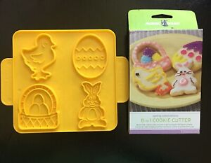 New Nordic Ware 8-in-1 Spring Celebrations Easter Cookie Cutter. NEW