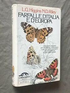 Higgins, Riley - FARFALLE D'ITALIA E D'EUROPA - L'Ornitorinco Rizzoli 1983 1a ed