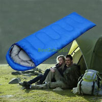 Mummy Sleeping Bag 5°C-15°C Camping Hiking With Carrying Case Brand New USA