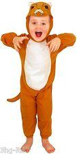 Kids Childs Girls Boys Zoo Toddler Safari Animal Lion Fancy Dress up Costume