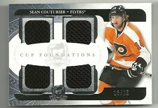 2011-12 Upper Deck The Cup Foundations Jersey SEAN COUTURIER Serial # 13/25