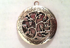 LOCKET TREE OF LIFE OPENWORK comes on Sterling Silver Chain Necklace