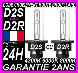 AMPOULE XENON D2S D2R LAMPE FEU 35W 6000 8000 AUDI BMW MERCEDES PEUGEOT RENAULT