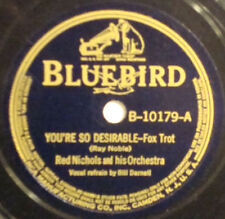 RED NICHOLS You're So Desirable BLUEBIRD~78 10179