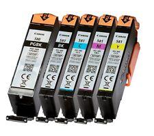 5 original canon cartuchos para Pixma Ts6150 Ts6250 Ts8150 Ts8250 Tr7550 Tr8550