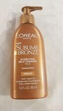 Loreal Paris Sublime Bronze Hydrating Self-tanning Milk Gradual Glow Medium