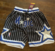 Orlando Magic Basketball Shorts Vintage 92-93 Mens Black Size Medium