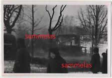 WK2 Foto Saloniki Nachrichten-Schule brennendes Bergdorf Dorf Kinder usw. 2516