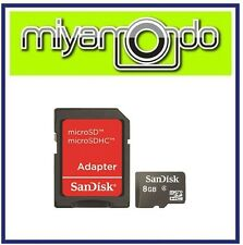 Sandisk 8GB Micro SD Memory Card with SD Adapter