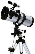 Seben Big Boss 1400-150 EQ3 Reflektor Teleskop Spiegelteleskop + E-Motor