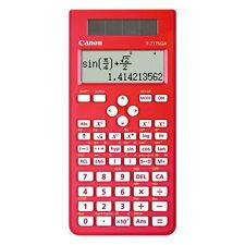 CANON F-717SGA. Scientific Calculator. RED - Brand New - ****Free Postage****