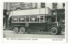 Pamlin M83 Reading Corporation Bus, No 21 RP PPC, Unposted