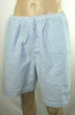 Chaps Blue & White Striped Mesh Lined Board Shorts Swimming Trunks Men's  XXL D1