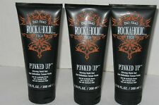 3 NEW Bed Head Rockaholic TIGI Punked Up Strong Hold Gel 6.76 Fl Oz Each