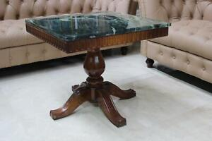Coffee Table Wood Table Side Sofa Couch Tables Marble Stone Immediate Available