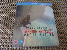 Blu Steel 4 U Mission Impossible Rogue Nation Limited Edition Steelbook