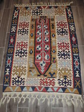 4x6ft. Vintage Turkish Kilim Wool Prayer Rug