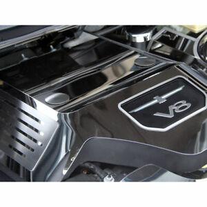 ACC Engine Shroud Cover fits 03-05 Ford Thunderbird V8-Polished/fits OEM Shroud