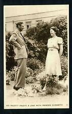 AK Großbritannien his majesty enjoys a joke with princess Elizabeth (Queen)