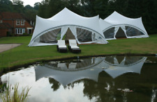 Commercial Wedding Event Glamping Camping Beach Yard Patio Pool Stretch Tent NEW