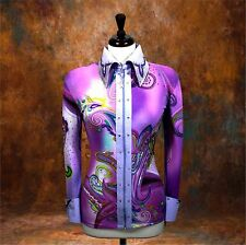 MEDIUM  Showmanship Pleasure Horsemanship Show Jacket Shirt Rodeo Queen Western