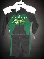 New Jordan Jumpman green black white 3pc jacket shirt pants set boys 2T