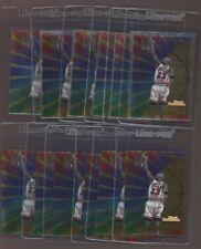 LOT of 12 1997-1998 Bowmans Best Performance MICHAEL JORDAN Basketball CARD