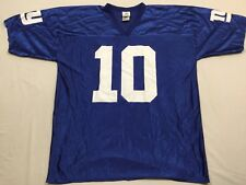 M43 New NFL TEAM APPAREL New York Giants Eli Manning #10 Jersey MEN'S XL