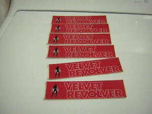 VELVET REVOLVER PROMO STICKER LOT OF 6 2004 VINTAGE SLASH SCOTT WEILAND