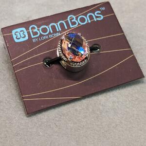 Lori Bonn Fuzzy Navel Slide Charm - 211120RBQ - New with Packaging